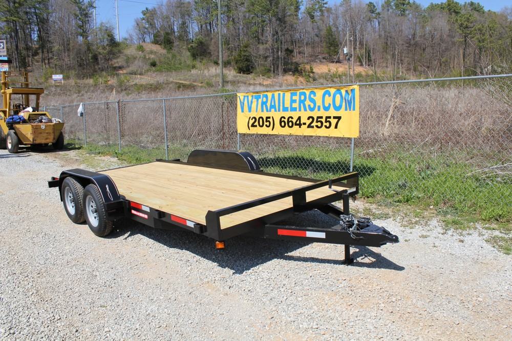83x16 Car Hauler With No Ramps For Sale