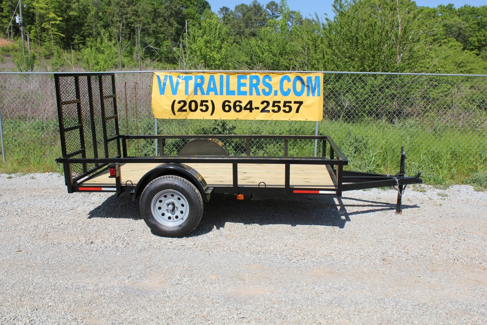 Trailer Tie Downs >> 6x10 Low Cost Utility Trailer For Sale