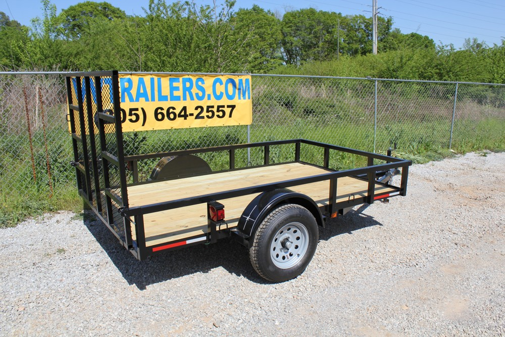 6x10 Low Cost Utility Trailer For Sale