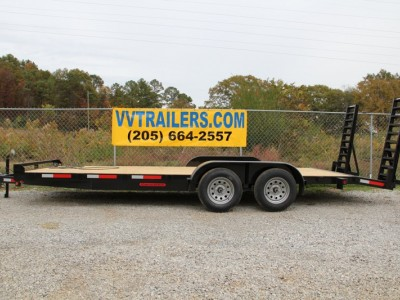 83x16 Equipment trailer 14,000 GVWR