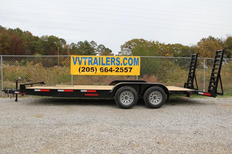 83x16 Equipment trailer 14,000 GVWR
