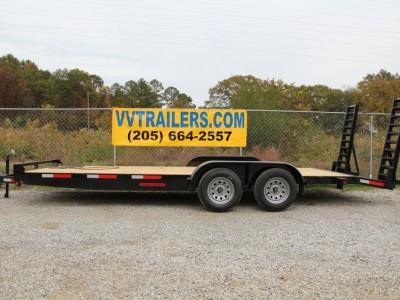 83x16 Equipment trailer 7,000 GVWR