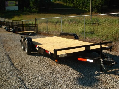 83x16 Car Hauler - Wood Floor
