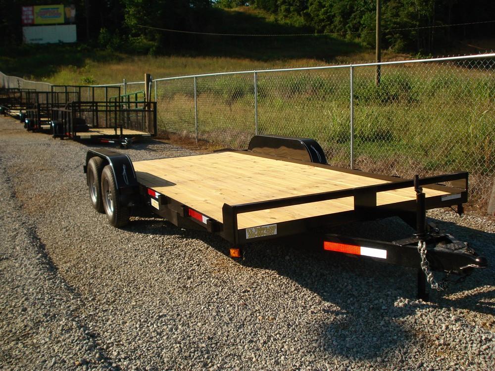 83x18 Car Hauler - Wood