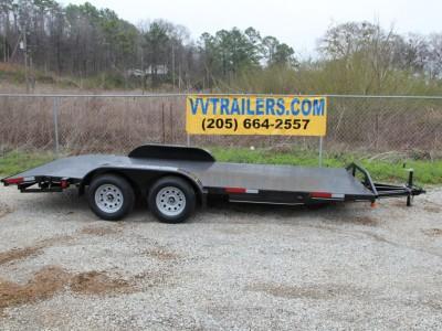 83x16 Car Hauler - Steel