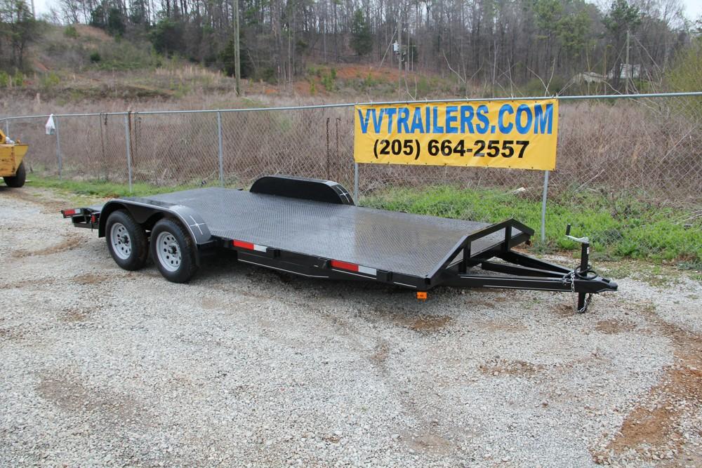 83x18 Car Hauler - Steel