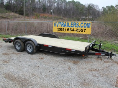 83x18 Equipment trailer 10,400 GVWR