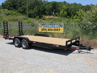 83x20 Equipment trailer 10,400 GVWR