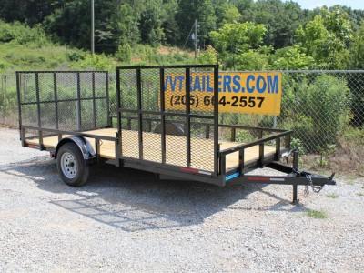 83x14 ATV Trailer Single Axle