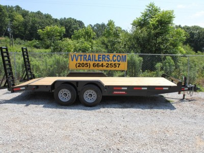 83x20 Equipment trailer 14,000 GVWR