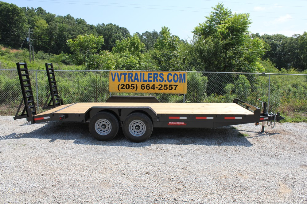 83x20 Equipment trailer 14,000 GVWR