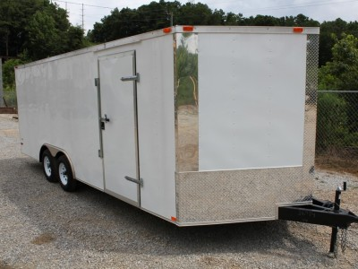 102x20 Enclosed Car Hauler