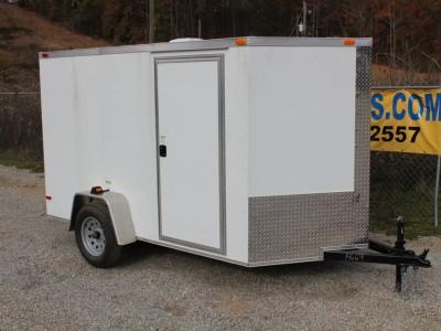 6x10 Enclosed Single Axle Trailer