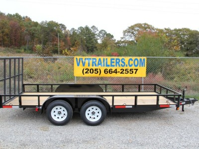 77x12 Tandem Axle Tubing Mike
